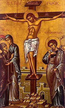 Crucifixion of Our Lord Jesus Christ Byzantine Art, Byzantine Icons, Religious Icons, Religious Art, Beautiful Nature Wallpaper, Orthodox Icons, Sacred Art, Christian Art, Pretoria