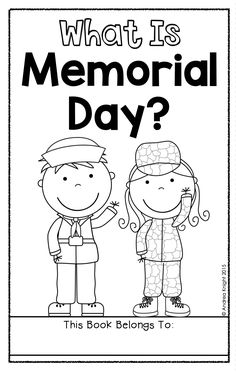What Is Memorial Day? This nonfiction book teaches children when Memorial Day is observed and explains the history and purpose of the holiday. Primary Resources, Teaching Resources, What Is Memorial Day, Patriotic Symbols, Grade 1, Second Grade, First Grade Teachers, Day Book, Hands On Activities