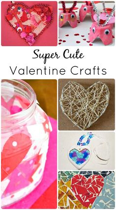 Super Cute Valentine Crafts for Kids