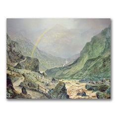 "Trademark Art ""The Seal of the Covenant"" by John Atkinson Grimshaw Painting Print on Wrapped Canvas Size:"