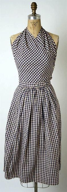 Rockabilly clothing - gingham dress