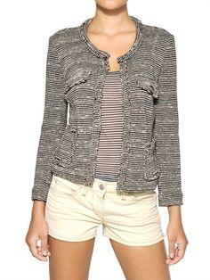 On my wish list. Etoile #IsabelMarant jacquard jacket