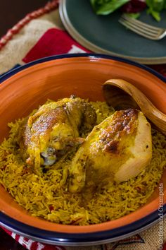 Chicken Kabsa | Saudi Style Chicken and Rice