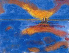 Red Clouds | Emil Nolde
