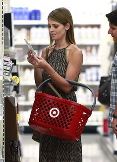 Ashley Greene at Target