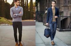 men's smart casual collage street style