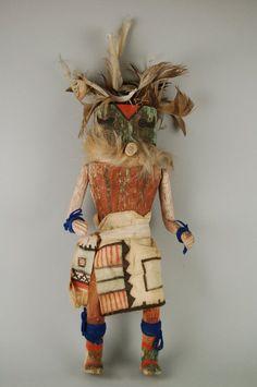 Brooklyn Museum: Arts of the Americas: Kachina Doll (Wamowa)