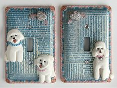 polymer clay lightswitch plates - Google Search