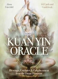 Kuan Yin oracle by Alana Fairchild Features 44 cards and detailed 144-page guidebook, packaged in a hard-cover box set. The 44 cards in this deck guide you to a place of inner peace and beauty. Her energy reaches out to you from each card.  https://shadowsofthemoon.net   #witchy #shadowsofthemoon #Wicca #witchcraft #Pagan #ilovemywitchyways #altar #Book #Wiccan
