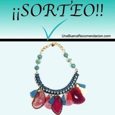 Sorteo Collar Sicilia Isha Kandisha Turquoise Necklace, Jewelry, Prize Draw, Jewlery, Jewerly, Schmuck, Jewels, Jewelery, Fine Jewelry