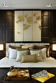 Elegant and beautiful wall panel