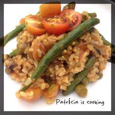 Patrícia is cooking.: Arroz de Verão {vegan, integral, sem glúten} / Sum...