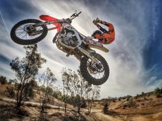 GoPro athlete Nate Adams rocks a double grab. Photo by Casey McPerry. Gopro Action, Camera Shop, Gopro Camera, Adventure Photography, Dirt Bikes, Motocross, Life Is Good, Gallery, World