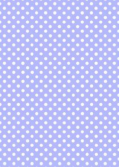 Morandi Sisters Microworld: Printable Wallpapers - Polka Dots - Carte da parati Stampabili