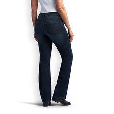 Lee Women's Platinum Label Curvy Fit Mia Bootcut Jeans (Size 14 Slim)