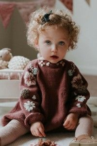 Cutie in our deep berry Flora romper for kids what a cute outfit for little girls Photo by mumma sunshine shirleybredal kidsfashion chi Cutie in our deep berry Flora romper for kids what a cute outfit for little girls Photo by mumma sunshine nbsp hellip Knitting For Kids, Baby Knitting Patterns, Rompers For Kids, Kids Fashion Boy, Baby Sweaters, Kids Wear, Baby Dress, Dress Girl, Crochet Baby
