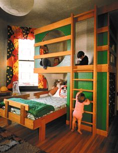 1980s Interior, Vintage Interior Design, 1980s Kids, Kids Bedroom, Kids Rooms, Bedroom Vintage, My Room, Playroom, Mid-century Modern