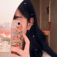 Image about girl in aesthetics ✨ by Lau on We Heart It Art Hoe Aesthetic, Korean Aesthetic, Aesthetic Photo, Aesthetic Pictures, Ulzzang Korean Girl, Cute Korean Girl, Asian Girl, L Icon, Foto Mirror