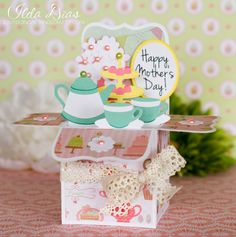 (I) (L)ove (D)oing (A)ll Things Crafty!: Happy Mother's Day - Tea Time Box Cards