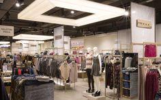 Department Store COIN Shopville Le Gru nel Grugliasco, Piemonte 700 mq Moda uomo e donna. Arredi realizzati da Effebi spa.