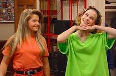 Kimmy Gibbler And DJ Tanner will always be bffs :) this makes my heart happy 90s Theme Party Outfit, 90s Outfit, Theme Parties, Birthday Parties, Clueless Outfits, Tv Show Outfits, Band Outfits, Fitness Workouts, Dj Full House