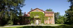Katinen Manor at summer time. Red Bricks, Helsinki, Finland, Summer Time, Mansions, Country, House Styles, Building, Houses