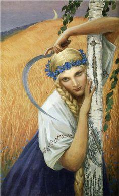 Reaper, Konstantin Vasilyev, Russian artist 1942-1976