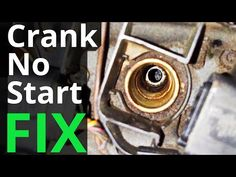 Car Cranks but Won't Start Fix - YouTube Car Repair, Car Stuff, Vw, Life Hacks, Polo, Youtube, Polos, Tee, Youtubers
