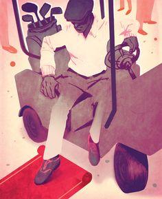 Skip Sterling Illustration