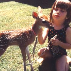 My favorite pet as a child. I loved my pet deer! It's name was Buckster Pet Deer, Buy Pets, Kangaroo, My Favorite Things, Children, Animals, Mom, Baby Bjorn, Young Children