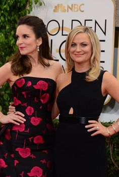 Tina Fey's 71st Annual Golden Globes Red Carpet Arrival | Golden Globes Awards