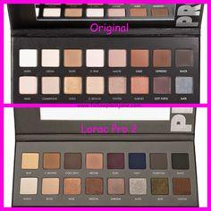 According to Plain Jane...LORAC Pro Palette vs. LORAC Pro Palette 2 www.followplainjane.com