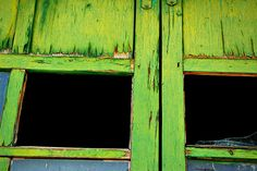 Weathered Green by jwoodphoto, via Flickr