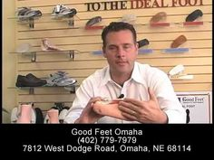 Do Arch Supports Work? Foot Pain Heel Back Hip Knee Pain Plantar Fasciitis - Good Feet Omaha - YouTube #back_pain #foot_pain #Omaha #Good_Feet