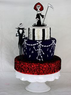 love this cake - don't see myself making it but it is so cute.