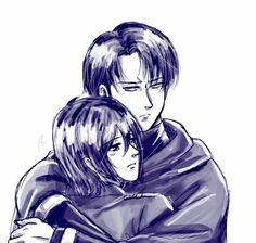 Mikasa X Eren, Armin, Levi Titan, Levi X Petra, Rivamika, Attack On Titan Ships, Levi Ackerman, Anime Ships, Anime Couples