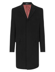 Italian Fabric Wool Rich Coat with Cashmere