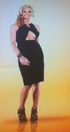 Meghan Edmonds Black Cutout Dress   http://www.bigblondehair.com/real-housewives/rhoc/meghan-edmonds-black-cutout-dress/