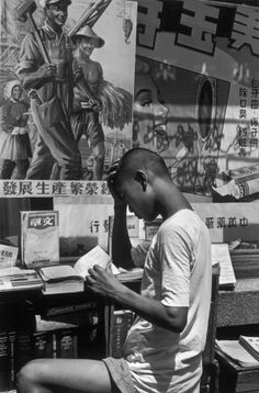 Henri Cartier-Bresson; Shanghai, 1949.