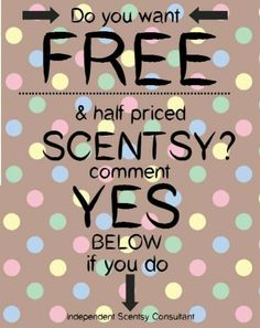 I woyld luv to share Scentsy with you# www.lozworldscents.scentsy.us