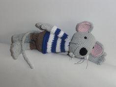 Amigurumi Crochet Pattern Rumini the Mouse by IlDikko on Etsy