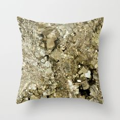 A Golden Fool Throw Pillow / Get started on liberating your interior design at Decoraid (decoraid.com).