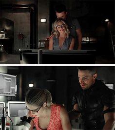 Oliver & Felicity #Olicity #Arrow #Season4 #4x01 // #4x03