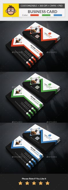 #Business #Card - Corporate Business Cards Download here: https://graphicriver.net/item/business-card/19885655?ref=alena994