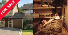 HARRY POTTER'S PRIVET DRIVE HOUSE IS UP FOR SALE, COMPLETE WITH CUPBOARD UNDER THE STAIRS!