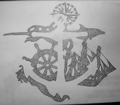 Negative Space Anchor. I am seriously in love with the idea of this.