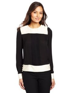 Jones New York Women's Banded Blouse Jones New York. $129.00. Made in China. Long sleeve. Machine Wash. polyester. Color block
