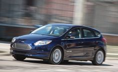 "2016 Ford Focus Electric - ""Aerodynamic drag grows exponentially, when any vehicle hits freeway speed the driver can watch the projected range drop faster than the miles pass by. Likewise, a few bursts of maximum acceleration will put an outsize dent in the remaining distance available to travel... This car isn't unique. The difference is that the conventional Focus's 12-gallon gas tank stores > 17 times the energy - The range of 2017 model will be upped to100 mi"
