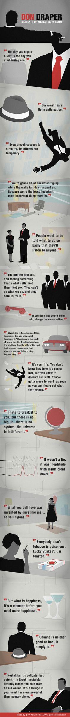 Don Draper Moments of Marketing Wisdom #dondraper by way of #Slate.com