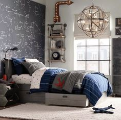 With traditional aesthetics and simpel particulars,who else can never get sufficient of some good 30 Cool Teenage Boy Room Decor Ideas for A Hard to Please Boy ?Hold scrolling for some severe interior inspo! Proceed to read. Boys Bedroom Decor, Trendy Bedroom, Bedroom Colors, Boys Bedroom Ideas Tween, Gray Bedroom, Teenage Boy Bedrooms, Boys Space Bedroom, Modern Bedroom, Music Bedroom